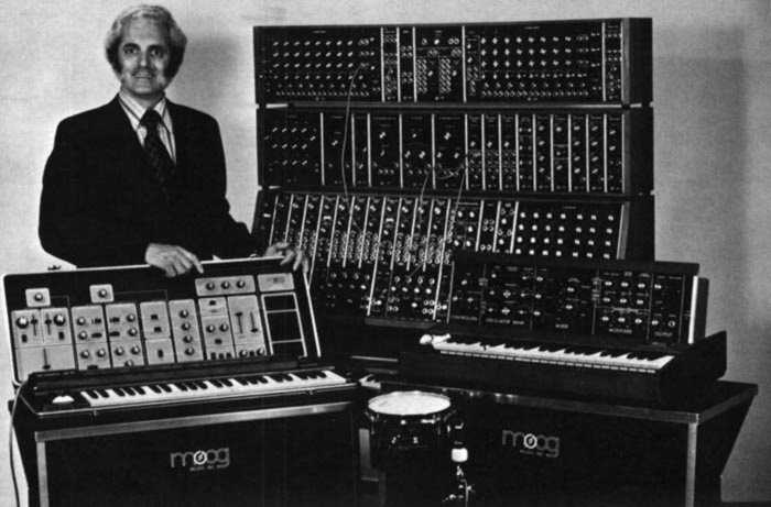 Bob Moog, our father of Synths