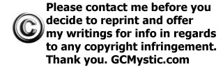 COPYRIGHTED WRITINGS!