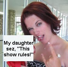 My daughter sez