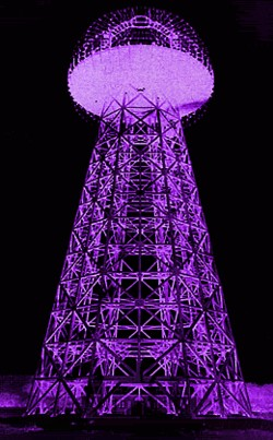 CLICK TESLA TOWER  TO START SHOW NOW!