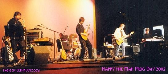 Happy the Man at Prog Day 2002, doing the encore!